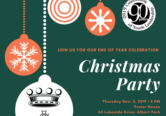 LSC&PH Christmas Party Invitation